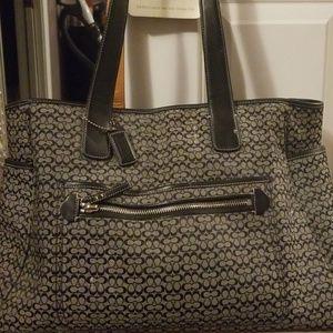 Coach diaper bag/baby bag